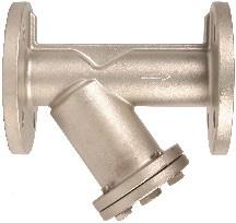 RVS Strainer, Y-Type strainer, Y-filter, Y-strainer, filters, zeef, flensaansluiting, flens, geflensd, PN16, PN40, RVS