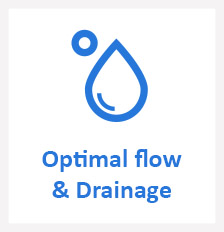 optimal flow, drainage in your IBC container