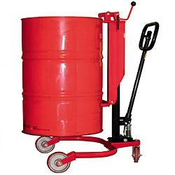 vaten wagen, vatenheffer, stalen vaten verplaatsen, vaten trolley, drums verplaatsen, vaten kar, pompwagen
