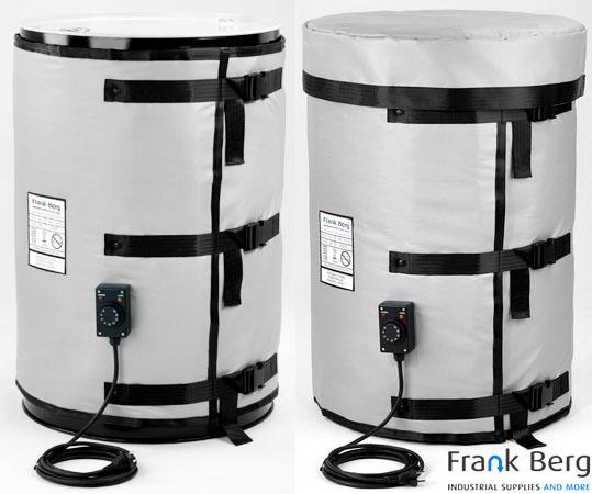 drum heater, barrel heater, heating mantle, heating jacket, heating blanket, high temperature heater