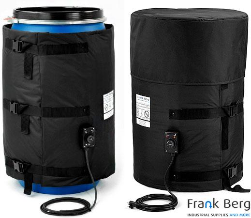 drum heater, barrel heater, heating mantle, heating jacket, heating blanket